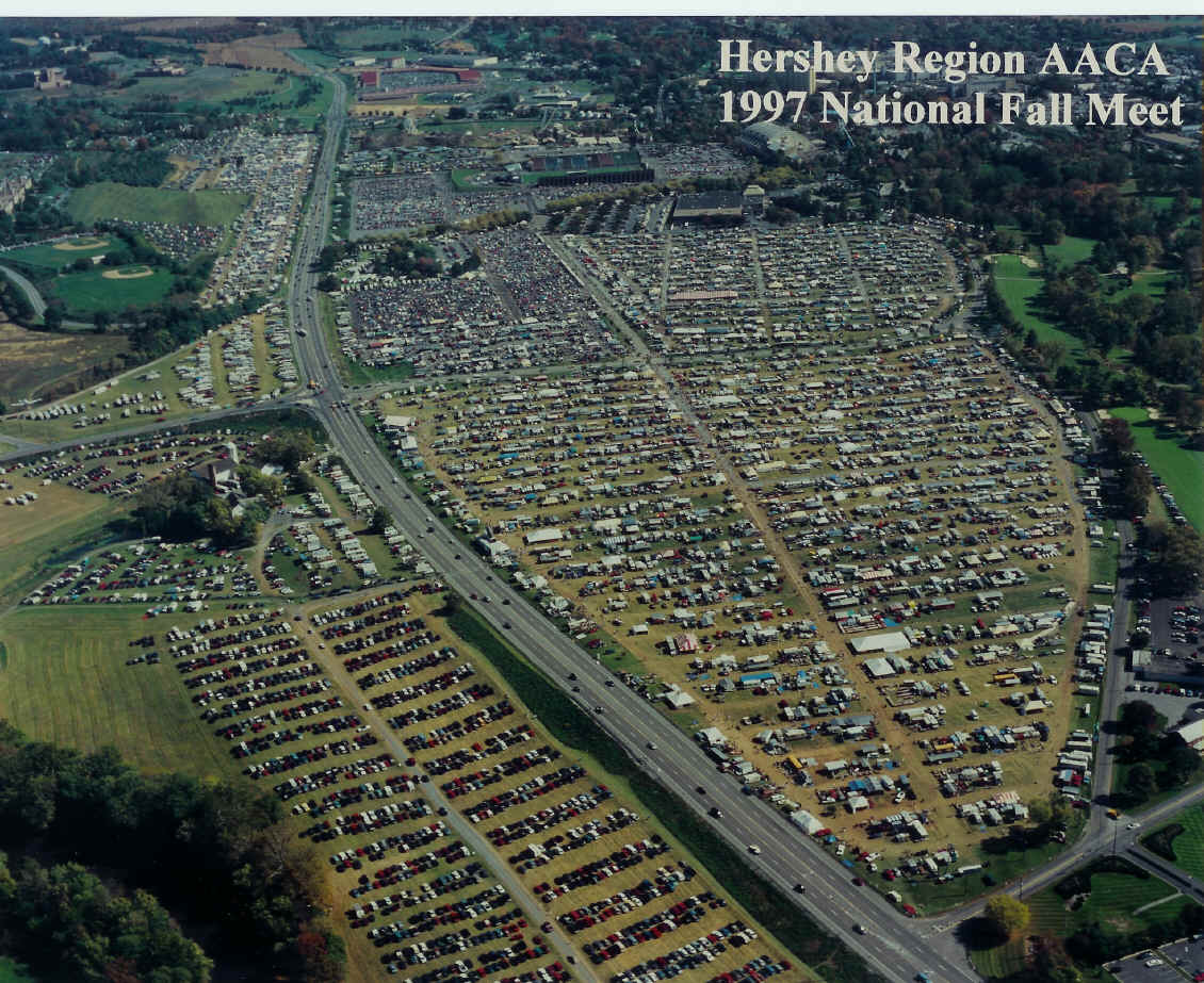 Aaca Hershey Fall Meet Photos >> Hershey Region AACA: Fall Meet Maps & Information