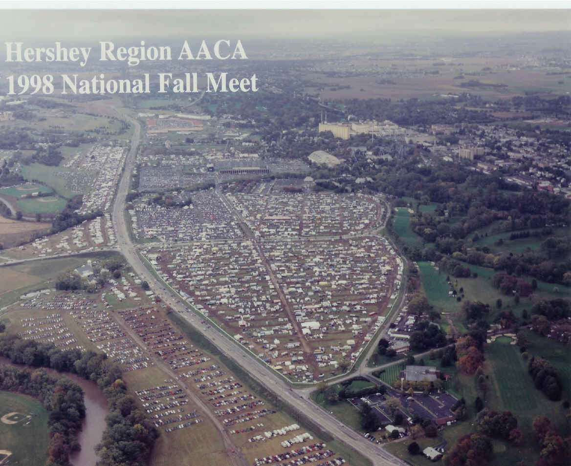 Hershey Car Show >> Hershey Region AACA: Fall Meet Maps & Information