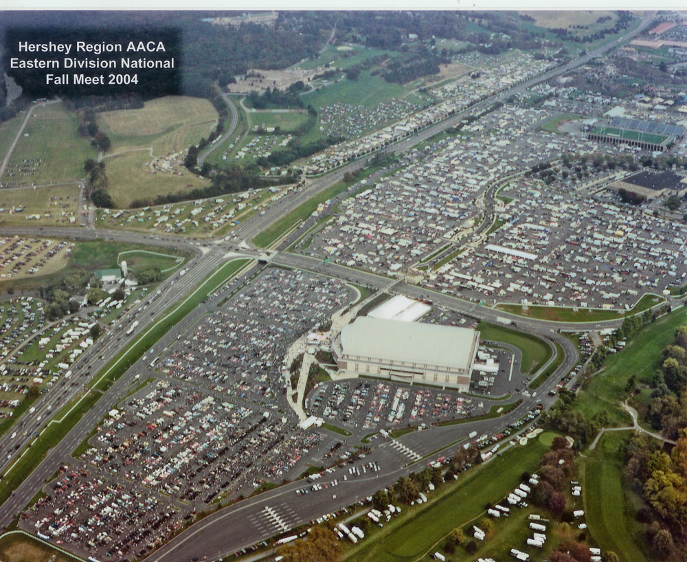 Hershey Auto Show 2017 >> Hershey Region AACA: Fall Meet Maps & Information